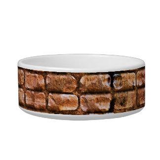 Aged Brick Wall Textured Bowl