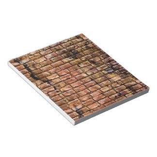 Aged Brick Wall Textured Notepad