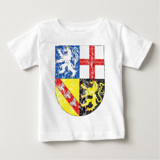 Aged Coat of Arms of Saarland Infant T-shirt