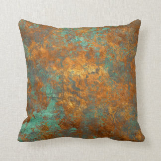 Aged Corrosion Gold Classic Style Pillow