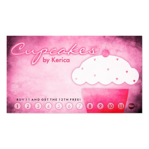 Cake Shop Business Card Templates Page BizCardStudio - Cupcake business card template