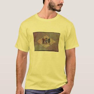 Aged Delaware flag T-Shirt