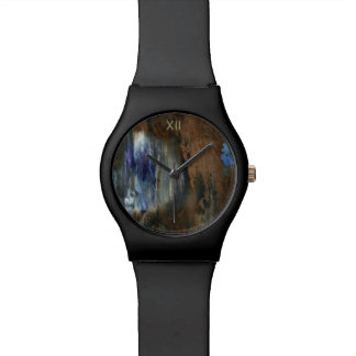 aged & distressed texture wristwatches