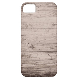 Aged Dock Wood in Cocoa iPhone/iPad Case