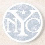 Aged Faded NYC Coasters