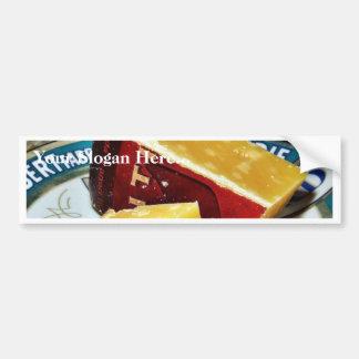 Aged Gouda Cheese Bumper Sticker