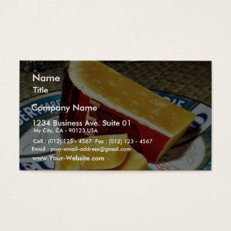 Aged Gouda Cheese Business Card