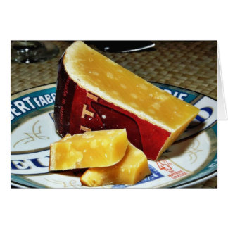 Aged Gouda Cheese Card