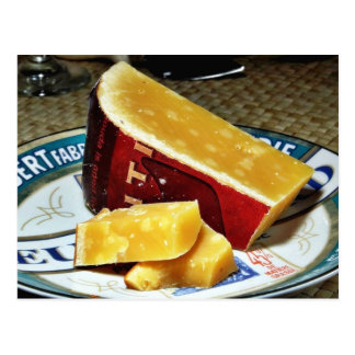 Aged Gouda Cheese Postcard