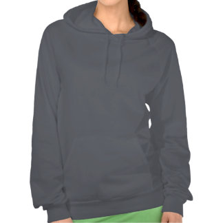 Aged Indiana State Pride Map Silhouette Hoody