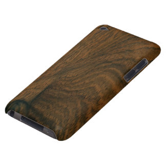 Aged Mahogany Wood Texture iPod Touch Case-Mate Case