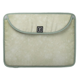 Aged Old Moss Green Paper Primitive MacBook Pro Sleeve