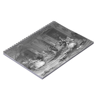 Aged Prince 1877 Spiral Notebooks