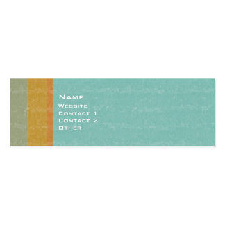 Aged Retro Double-Sided Mini Business Cards (Pack Of 20)