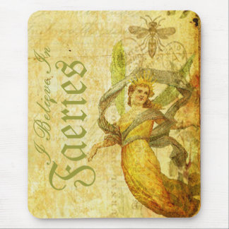 Aged Rose of Faery Mouse Pad