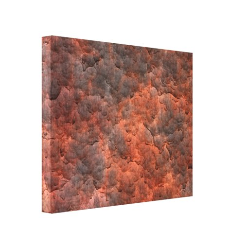 Aged Rusted Metal Canvas Print