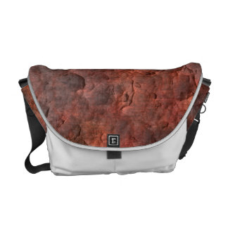 Aged Rusted Metal Courier Bag