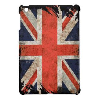 Aged shredded Union Jack Case For The iPad Mini