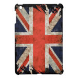 Aged shredded Union Jack Cover For The iPad Mini