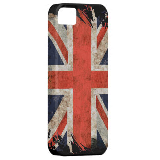 Aged shredded Union Jack iphone 5 case iPhone 5 Cover