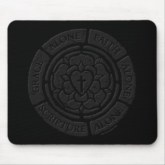 Aged Stone Luther Seal Computer Mouse Pad