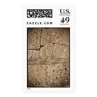 Aged Stone postage (large)