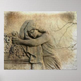 Aged Stone Print