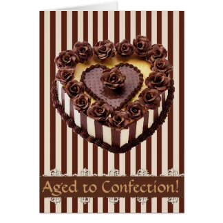 Aged to Confection Greeting Cards