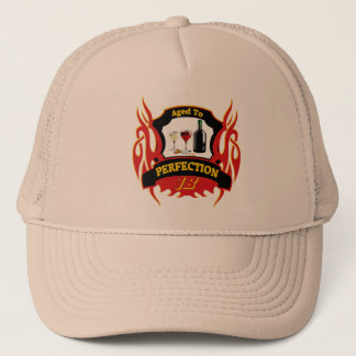 Aged To Perfection 18th Birthday Gifts Trucker Hat