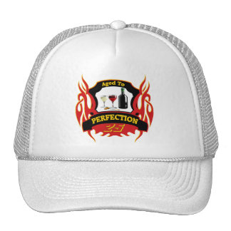 Aged To Perfection 25th Birthday Gifts Trucker Hat