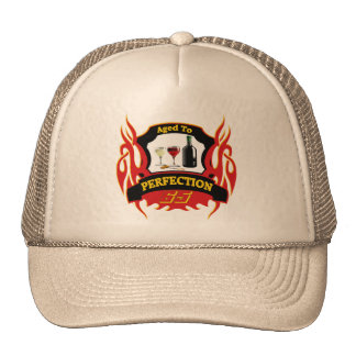 Aged To Perfection 65th Birthday Gifts Mesh Hat