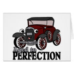 Aged to Perfection/ Antique Car Greeting Cards