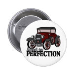 Aged to Perfection/ Antique Car Pin