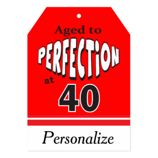 Aged to Perfection at 40 Card
