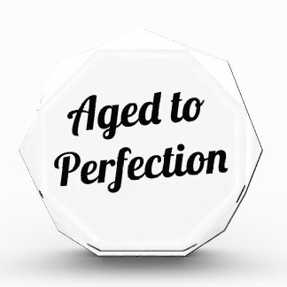 Aged to Perfection Award