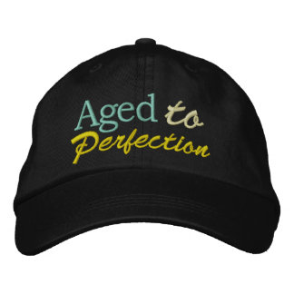 Aged to Perfection by SRF Embroidered Baseball Cap