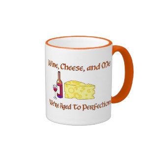 Aged To Perfection Ringer Coffee Mug