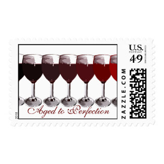 Aged to Perfection Postage Stamp