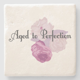 Aged to Perfection! Stone Coaster