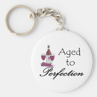 Aged to Perfection T-shirts and Gifts. Keychain