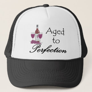 Aged to Perfection T-shirts and Gifts. Trucker Hat