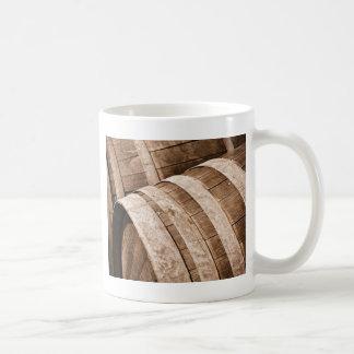 Aged to Perfection Wine Barrels Vintage Cellar Coffee Mug