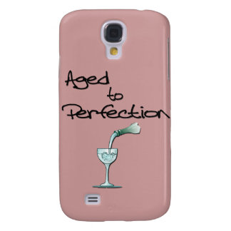 Aged to Perfection wine black Galaxy S4 Case