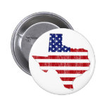 AGED US FLAG TEXAS BUTTONS
