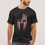 Aged Usa Spartan T-shirt at Zazzle