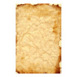 Aged Vintage Crumpled   Stationery 2