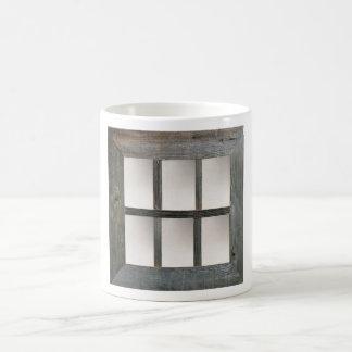 Aged Window Pane Coffee Mug