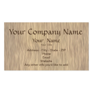 Aged Wood Background Custom Business Cards