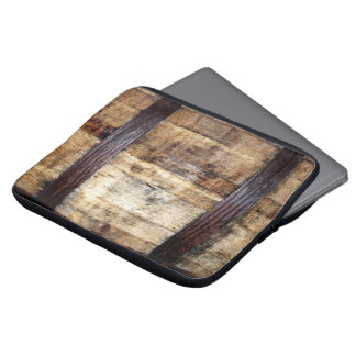 Aged Wood Barrel Laptop Sleeves