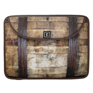 Aged Wood Barrel Sleeve For MacBooks
